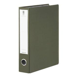 コクヨ NEOS ネオス チューブファイル A4縦50mmとじ 2穴 オリーブグリーン フ-NE650DG