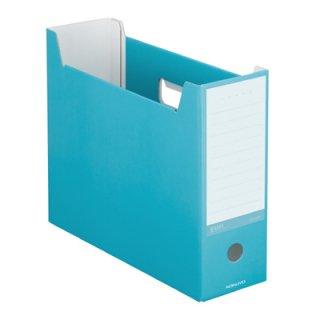 コクヨ NEOS ネオス ファイルボックス ターコイズブルー A4-NELF-B