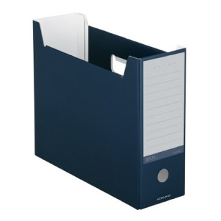 コクヨ NEOS ネオス ファイルボックス ネイビー A4-NELF-DB