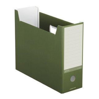 コクヨ NEOS ネオス ファイルボックス オリーブグリーン A4-NELF-DG