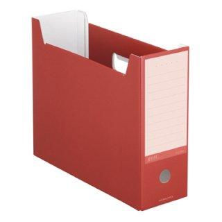 コクヨ NEOS ネオス ファイルボックス カーマインレッド A4-NELF-R