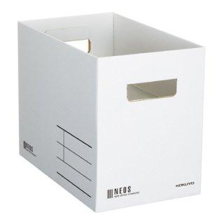 コクヨ NEOS ネオス 収納ボックス Mサイズ ホワイト A4-NEMB-W