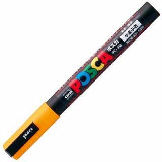 三菱鉛筆 POSCA ポスカ 細字 山吹 PC-3M.3
