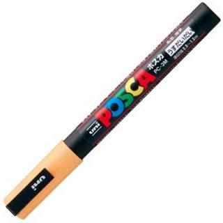三菱鉛筆 POSCA ポスカ 細字 うす橙 PC-3M.54