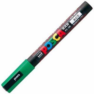 三菱鉛筆 POSCA ポスカ 細字 緑 PC-3M.6