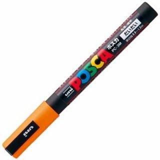 三菱鉛筆 POSCA ポスカ 細字 橙 PC-3M.4