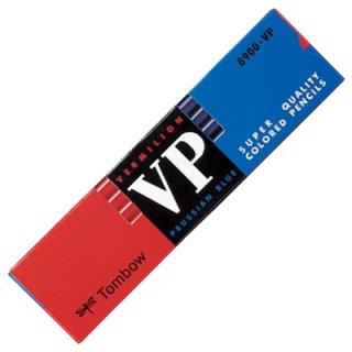 トンボ 赤青鉛筆 8900VP(朱藍)