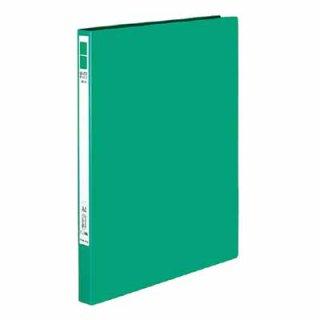 コクヨ レバーファイル Eze 緑 再生PP表紙A4縦12ミリ120枚収容 フ-U330G