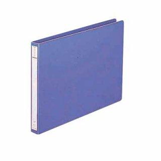 リヒトラブ パンチレスファイル A4 横 160枚 藍 F371