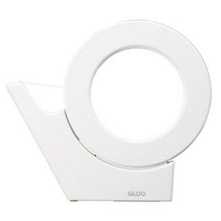 コクヨ GLOO グルー テープカッター 吸盤ハンディタイプ・大巻き 白 T-GM500W