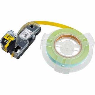キングジム テプラ PRO 18mm幅 詰替用EXロングテープ 黄 SC18Y-EXR