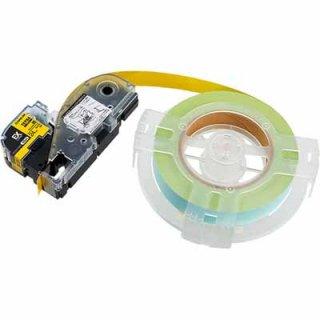 キングジム テプラ PRO 24mm幅 詰替用EXロングテープ 黄 SC24Y-EXR