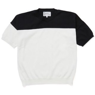<img class='new_mark_img1' src='https://img.shop-pro.jp/img/new/icons38.gif' style='border:none;display:inline;margin:0px;padding:0px;width:auto;' />short sleeve jumper(white×black)