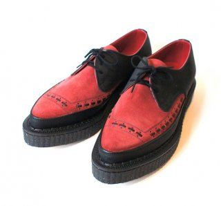 [GEORGE COX]3750 creeper-BK×RED