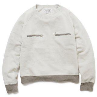 ZIP pocket sweat jummper(a.gray)