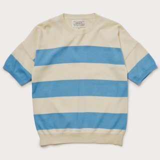 <img class='new_mark_img1' src='https://img.shop-pro.jp/img/new/icons35.gif' style='border:none;display:inline;margin:0px;padding:0px;width:auto;' />3inch border short sleeve jumper