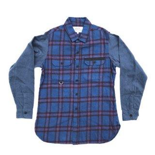 tartan flannel work shirt