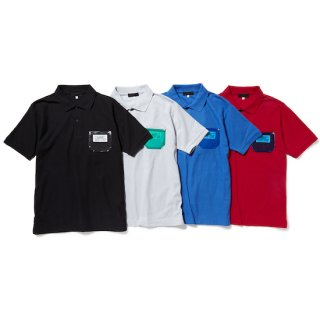 PVC pocket polo shirt