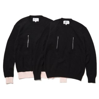 cotton zip jumper