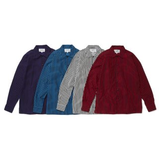 flat collar L/S shirt