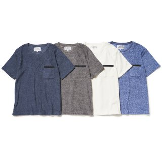 towelling pocket tee shirt