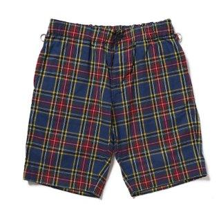 tartan easy shorts
