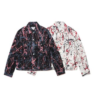 <img class='new_mark_img1' src='https://img.shop-pro.jp/img/new/icons5.gif' style='border:none;display:inline;margin:0px;padding:0px;width:auto;' />action paint jean jacket