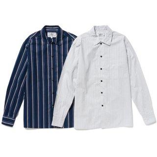<img class='new_mark_img1' src='https://img.shop-pro.jp/img/new/icons5.gif' style='border:none;display:inline;margin:0px;padding:0px;width:auto;' />flat collar regimental shirt