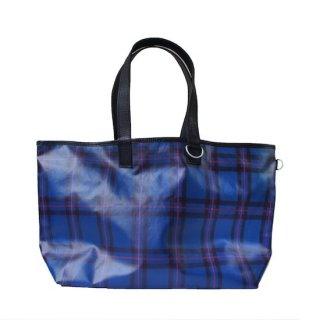 tartan tote bag (large)