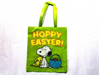 Large Peanuts Easter Tote Bags