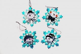 Snowflake Christmas Ornaments