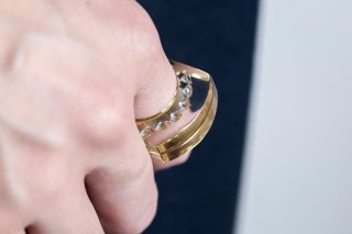 GLAM RING 2 - gold<img class='new_mark_img2' src='https://img.shop-pro.jp/img/new/icons56.gif' style='border:none;display:inline;margin:0px;padding:0px;width:auto;' />