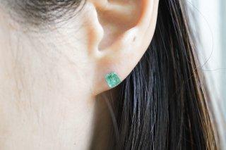 Emerald Rock Earring(single)