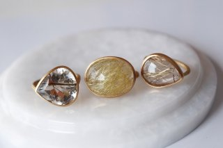 『LIMITED PIECE COLLECTION』Rutile Quartz Ring