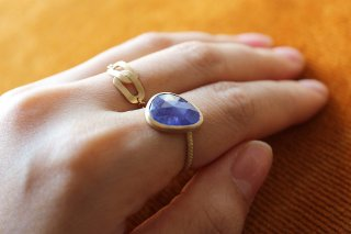 『LIMITED PIECE COLLECTION』Tanzanite Ring
