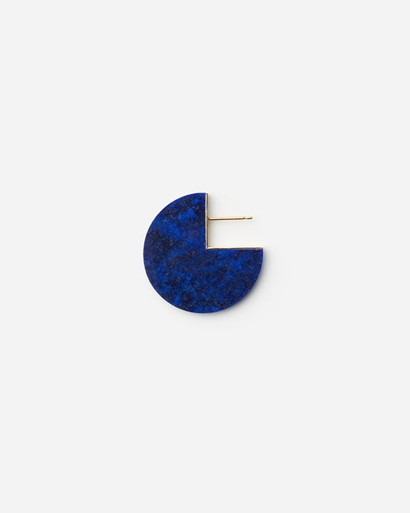 Slice Earring Lapis lazuli(single)<img class='new_mark_img2' src='https://img.shop-pro.jp/img/new/icons8.gif' style='border:none;display:inline;margin:0px;padding:0px;width:auto;' />