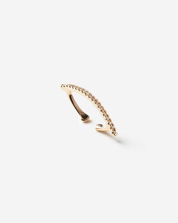 Bow Ear Cuff diamondline