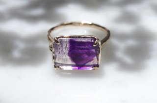 Moss ring ゲーサイトインアメシスト<img class='new_mark_img2' src='https://img.shop-pro.jp/img/new/icons8.gif' style='border:none;display:inline;margin:0px;padding:0px;width:auto;' />
