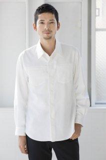 235フロントヨークシャツ