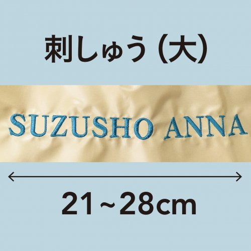 刺しゅう(大)21〜28cm