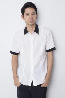 ミリタリーシャツ 配色 メンズ