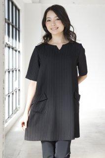 ベネストライプ  ドレス  半袖