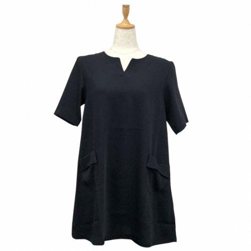 57001bリーンラインベネ  ドレス  半袖