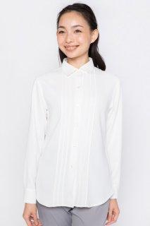 リーンラインベネ ピンタック3シャツ レディース