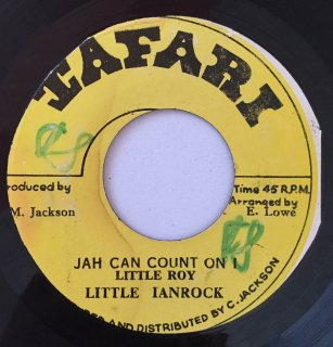 LITTLE IANROCK ( LITTLE ROY ) - JAH CAN COUNT I<img class='new_mark_img2' src='//img.shop-pro.jp/img/new/icons25.gif' style='border:none;display:inline;margin:0px;padding:0px;width:auto;' />