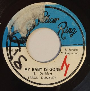 ERROL DUNKLEY - MY BABY IS GONE
