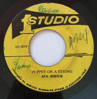 KEN BOOTHE - PUPPET ON A STRING