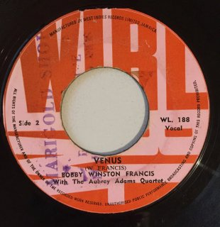 BOBBY WINSTON FRANCIS - VENUS<img class='new_mark_img2' src='//img.shop-pro.jp/img/new/icons25.gif' style='border:none;display:inline;margin:0px;padding:0px;width:auto;' />