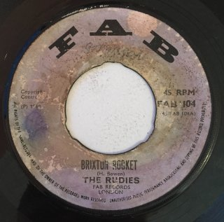 THE RUDIES - BRIXTON ROCKET<img class='new_mark_img2' src='//img.shop-pro.jp/img/new/icons25.gif' style='border:none;display:inline;margin:0px;padding:0px;width:auto;' />