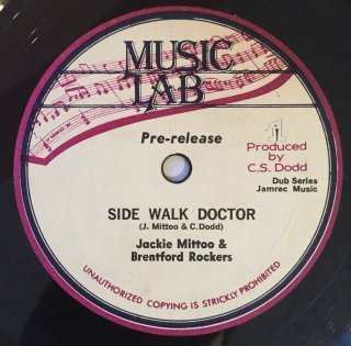 JACKIE MITTOO & BRENTFORD ROCKERS - SIDE WALK DOCTOR<img class='new_mark_img2' src='//img.shop-pro.jp/img/new/icons25.gif' style='border:none;display:inline;margin:0px;padding:0px;width:auto;' />